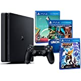 Playstation 4 Consola PS4 Slim 500Gb PACK FAMILIAR 5 Juegos - Ratchet Clank No M