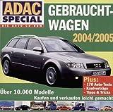 ADAC Special, CD-ROMs : Gebrauchtwagen 2004/2005, 1 CD-ROM Über 10.000 Modelle. Kaufen und Verkaufen leicht gemacht. Plus 170 Auto-Tests, Kaufverträge, Tipps & Tricks. Für Windows 95, 98, ME, NT, 2000, Win XP