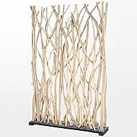 atypik home paravent en bois flott original de 120 x 180 x