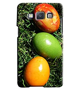 Omnam Coloful Eggs Printed Designer Back Cover Case For Samsung Galaxy A5