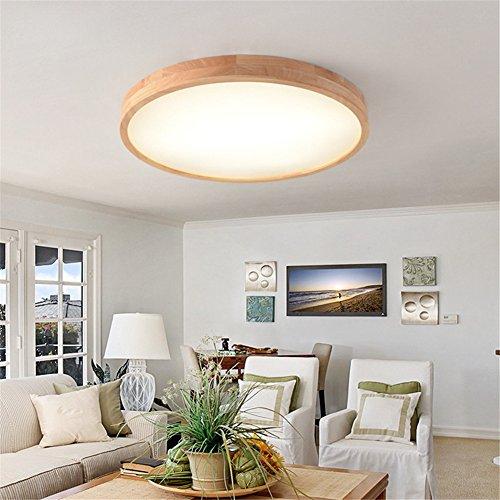 Kamela Led Feste Holz-Lampe Runde Einfache Mode Balkon Korridor