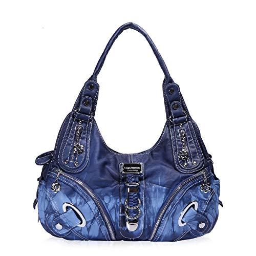 f57f9aecc3b4f Tasche Hobo Frauen Tasche geräumig mehrere Taschen Street Ladies    Schultertasche Fashion PU Tote Bag (