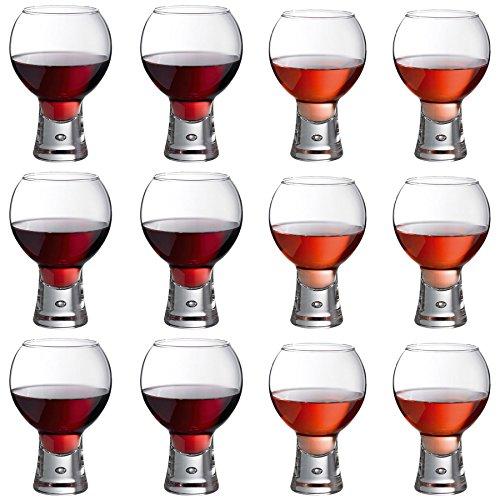 DUROBOR Alternato Verres à Vin - 410ml et 540ml - Lot de 12