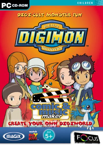 Magix Digimon Monsters Comic & Music Maker (PC) Test