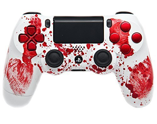 Bloody Hands Ps4 Custom Modded Controller 35 Mods COD Ghosts Quick Scope Auto Run Sniper Breath and More