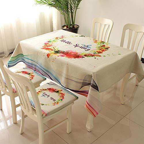 GZ-Anti-Rutsch-PVC-Tischdecke wasserdicht und ölbeständig Anti-verbrühen Outdoor-Indoor Tischdecke Couchtisch Matte rechteckige Kunststoff-Matte Kunststoff Tischdecke