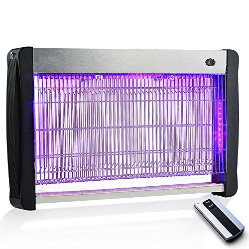 Llzmwd led/shock/lampada zanzara/casa/ied/ristorante/mosche mosche/luce/zanzara/lampada zanzariera elettrica, 50 led