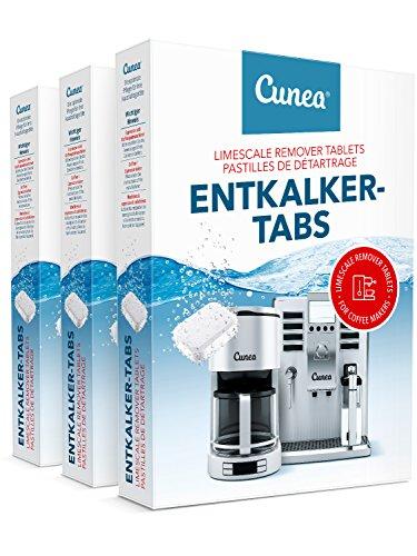 Entkalkungstabletten I 60x Entkalker Tabletten für Kaffeevollautomat I Entkalkertabs I...