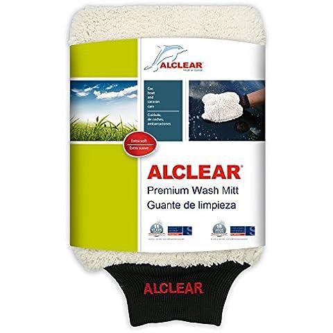 ALCLEAR 950013WH Premium Guante de Limpieza, 27 x 17 cm, Blanco