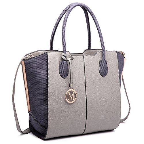 Miss Lulu ,  Damen Tasche 6625 Grey