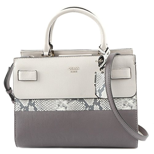 Guess Cate satchel Taupe muticolor