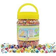 Perlas de gel para el agua, multicolor, 360 g (42 000 unidades)