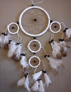 DREAM CATCHER BEAUTIFUL ITEM DREAMCATCHER / WHITE by Dream Catchers