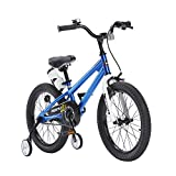 Royal Baby 667425, Bicicletta Unisex Bambini, Blu, 18 Pollici