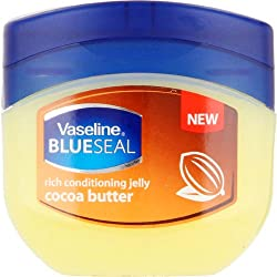 Vaseline Blueseal Rich Conditioning Jelly Cocoa Butter Pack of Two (2) 100 ml Each Made in South Africa
