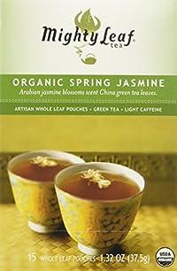 Mighty Leaf Tea Company - Mountain Spring Jasmine, 15 tea bags - 1.32 oz