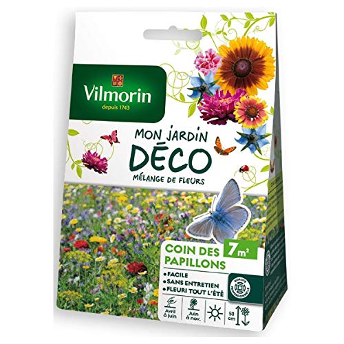 Vilmorin - Sachet graines Mélange de fleurs Coin des Papillons 7m2