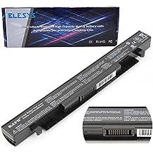 BLESYS - 2600mAh A41-X550A Batería Fit Asus X550 X550C X550CA X550L A450C Batería del ordenador portátil Reemplace para A41-X550 batería de Repuesto (Compatibilidad 2950mAh 44wh +15v)