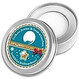 DOCTORS Lip Balm, 5 St. | Werbeartikel mit Druck | Lippen-Pflege in Metalldose | Werbegeschenke mit Logo | Werbemittel Weihnachten (5 Stück)