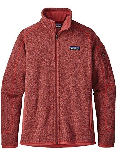 Patagonia Damen Jacke Better Sweater Fleece static red