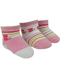 EBI& EBI - Baby Thermo Erstlingssöckchen 3er-Pack, rosa