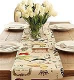 Sucastle® 35x160cm Tuch Tischläufer Hochzeit Tischband ,abwaschbar (Farbe wählbar),Meterware,Tischwäsche,stoffähnliches Vlies, Party, Catering , Vereinsfeier ,Geburtstag
