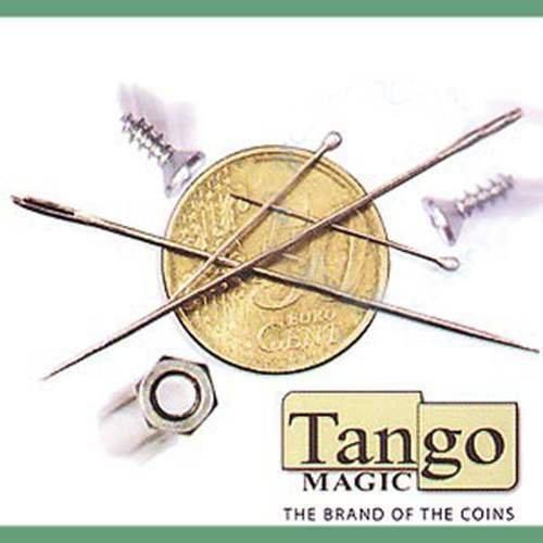 SOLOMAGIA Magnetmünze (Starker Magnet) - 50 Cent Euro von Tango Magic mit DVD - Magic mit Münzen - Magic Trick (Mit Magische Münzen Tricks)