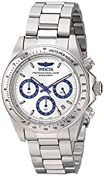 Invicta Mens 17311 Speedway Analog Display Japanese Quartz Silver Watch