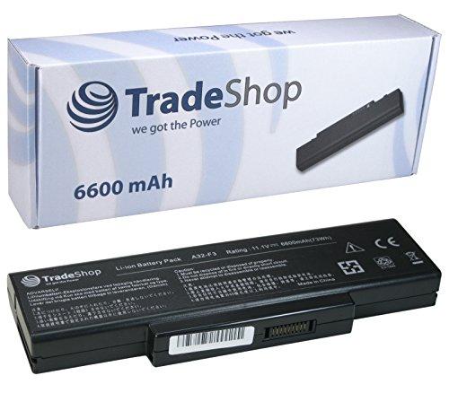 Hochleistungs Li-Ion AKKU 6600mAh 10,8/11,1V für Gigabite W348M W451U W466U W468N W536M W552W