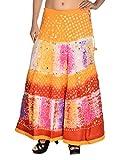 Aura Life Style Women's Cotton Bandhej S...