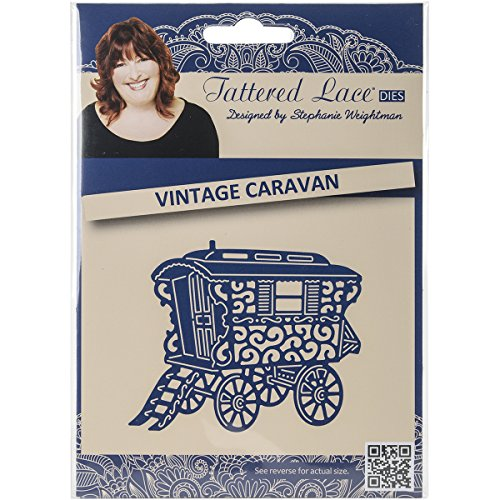 Best Create and Craft Metal Tattered Lace Die-Vintage Caravan Discount