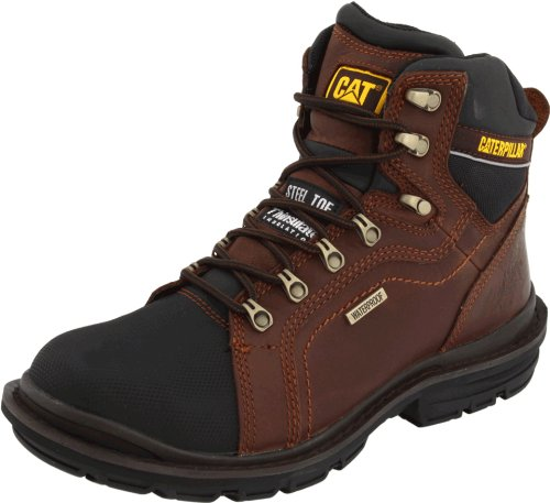 Caterpillar Mens Manifold Tough Waterproof Work Boot Oak