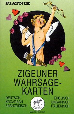 Piatnik Vienna Zigeuner Wahrsagekarten, 36 Karten mit Anleitung