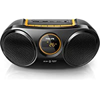 Portable Boombox PHILIPS AT10 / 00 Color Black, Bluetooth, USB, SD