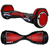 MightySkins Protective Vinyl Skin Decal for Razor Hovertrax 2.0 Hover Board Self-Balancing Smart Scooter wrap cover sticker skins Red Carbon Fiber