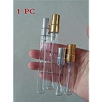 Interesting 1PC 5ml Mini Zerstäuber Fine Mist Leere Glasflasche Spray Nachfüllbare Duft Parfüm Duft Probe Flasche