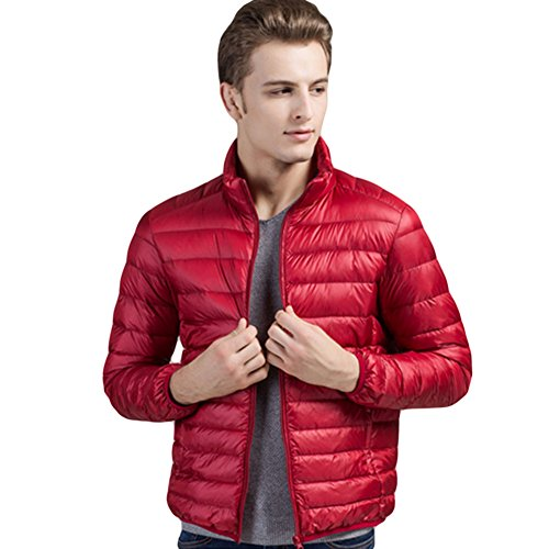Meijunter Décontractée Svelte Canard Sous-Vêtement Parka Coat Outwear Hiver red
