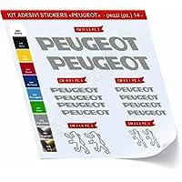Specialized Cod. 0455 - Kit de adhesivos para bicicleta, 14 unidades, diferentes colores