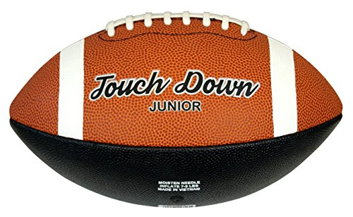 Midwest Touch Down American Football Ball – Tan, Junior