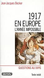 Europe en 1917