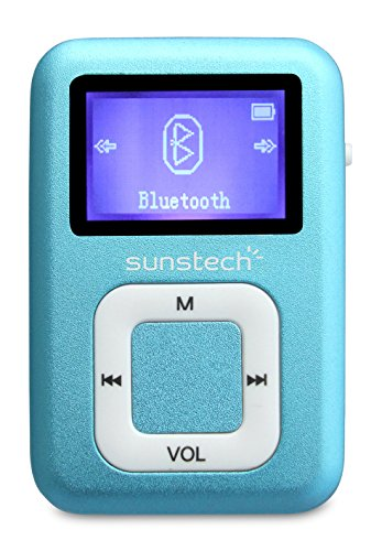Sunstech DEDALOBT4GBBL MP3-Player 2,8 cm(Bluetooth, 4GB, FM, Aufnahmefunktion), Blau