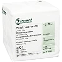 VLIESKOMPRESSEN 10x10 cm unsteril 4lagig 100 St Kompressen preisvergleich bei billige-tabletten.eu