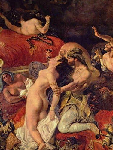 Lais Puzzle Eugène Ferdinand Victor Delacroix - - - La Mort du Sardanapal, détail 2000 Pieces | Une Grande Variété De Marchandises  e4b0f7