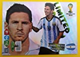 Panini Adrenalyn XL WM 2014 Brasilien - Messi Argentinien limited Edition