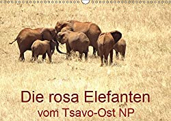 Die Rosa Elefanten Vom Tsavo-ost Np (Wandkalender 2019 Din A3 Quer): Elefantenherden, Elefantenporträts, Rosa Gefärbt Von Der Roten Erde Des Tsavo-ost Np (Monatskalender, 14 Seiten ) (Calvendo Tiere)