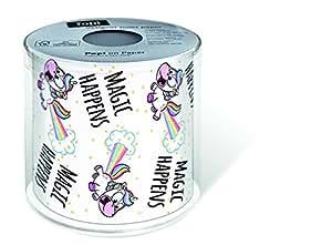 Papier toilette paillettes licorne enfants toiles d 39 anniversaire cuisine maison - Papier toilette licorne ...