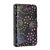 KAMAL STAR für Alcatel One Touch POP C1 4015D Kunstleder Tasche PU Schutzhülle Tasche Leder Brieftasche Hülle Case Cover + Gratis Universal Eingabestift (Rose Black Diamond Book)