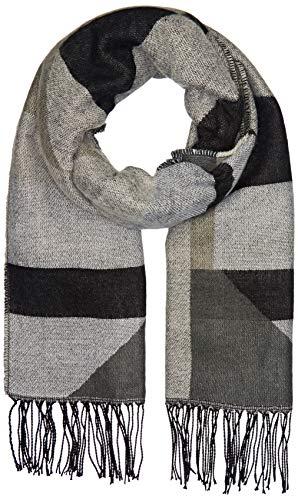 PIECES Damen PCDASTE LONG SCARF NOOS Schal, Mehrfarbig Black, One Size