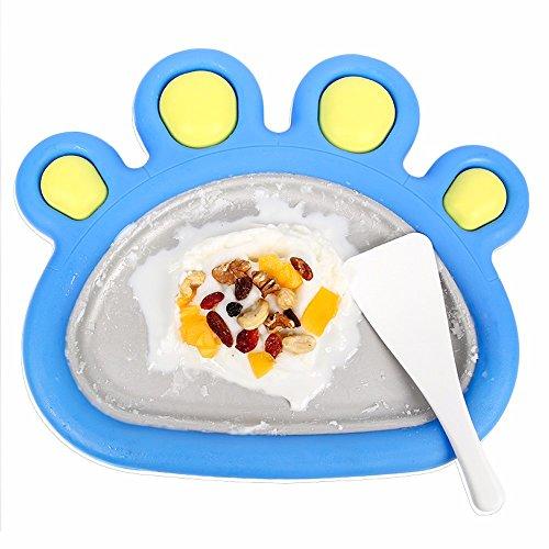 Sorbetière,Bricolage Accueil Fried yaourts linge, mini Mini Machine à glace, machine à glace Enfants Glace maison, linge, plaque de glace frite