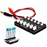 HOBBYTIGER-6-in-1-1s-Lipo-Batterie-Ladebrett-Ladegert-fr-Horizon-Blade-Inductrix-Nano-QX-Tiny-Whoop-UMX-Ultra-Micro-JST-PH-Parallel-Connect-Plate